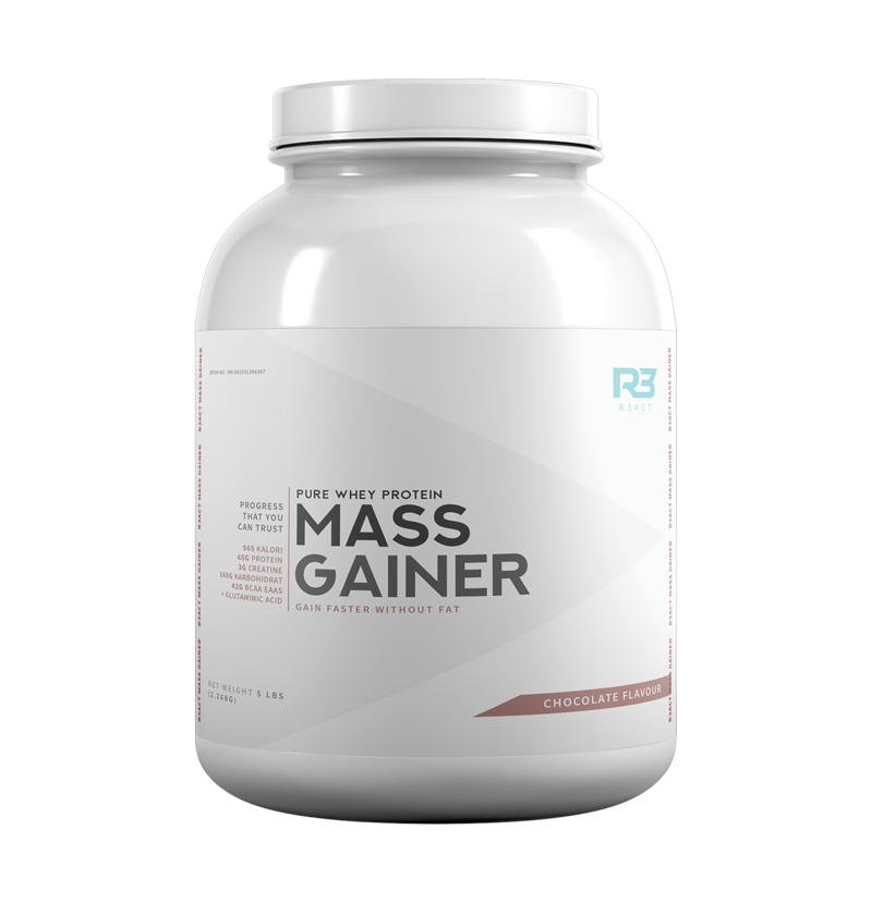 R3ACT MASS GAINER 5 LBS