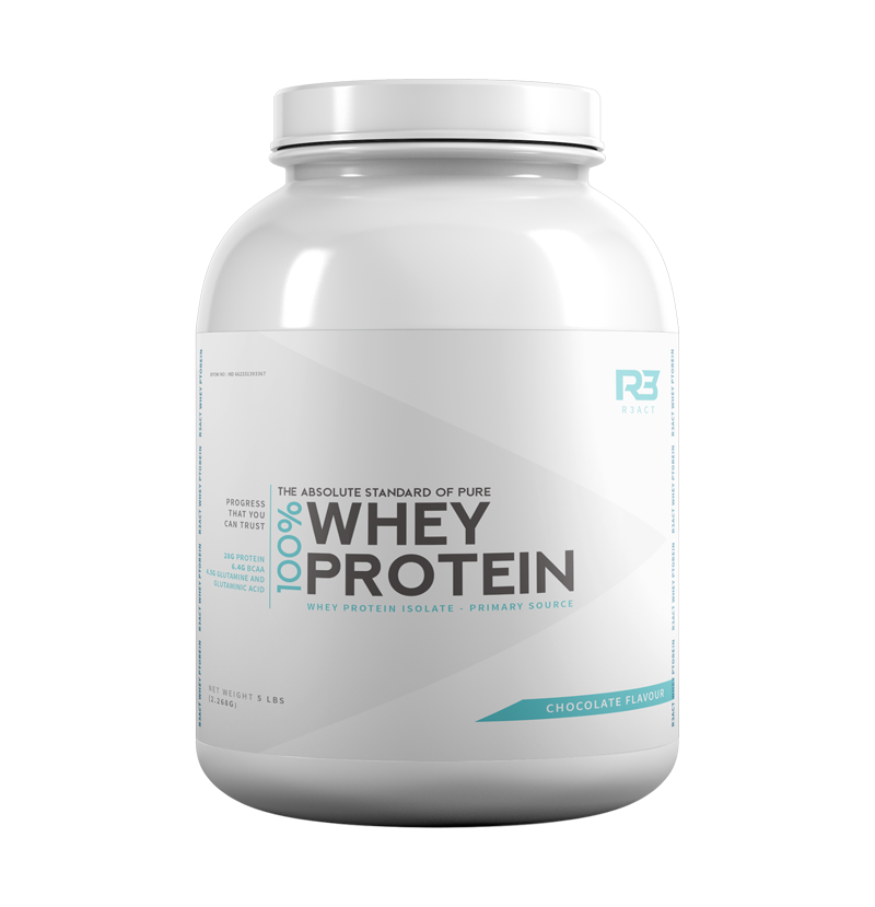 R3ACT WHEY PROTEIN 5 LBS
